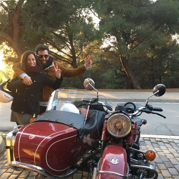Afternoon sunset · Barcelona Sidecar Tours