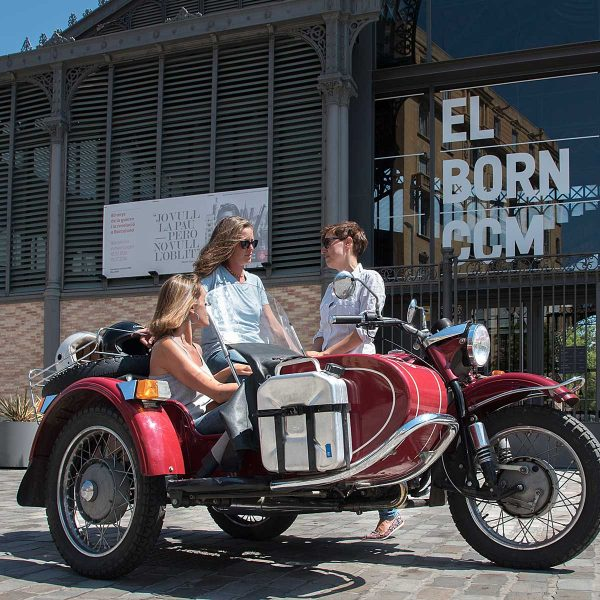 Neighbourhood approach · Barcelona Sidecar Tours